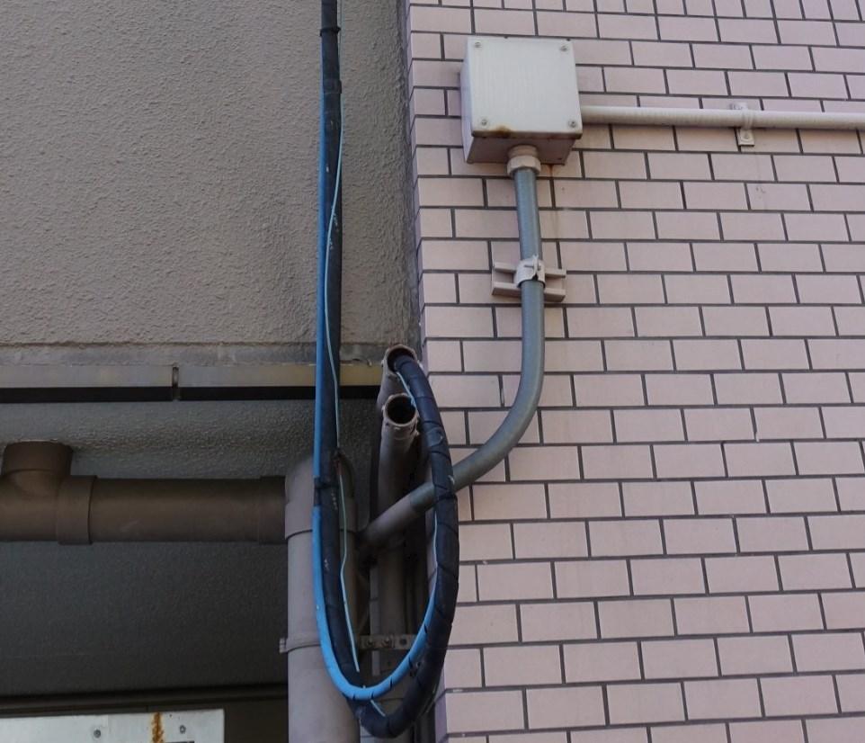 フレッツ光回線工事の流れ